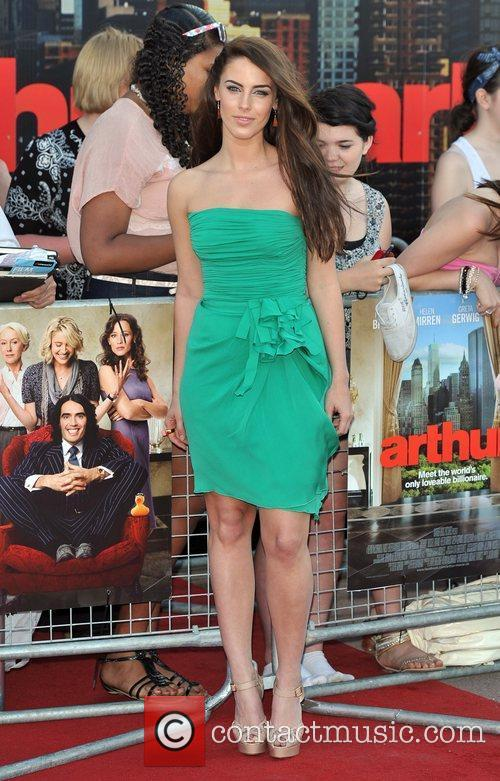 Jessica Lowndes Arthur - UK film premiere held...