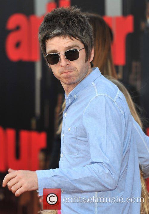 Noel Gallagher UK film premiere of 'Arthur' held...
