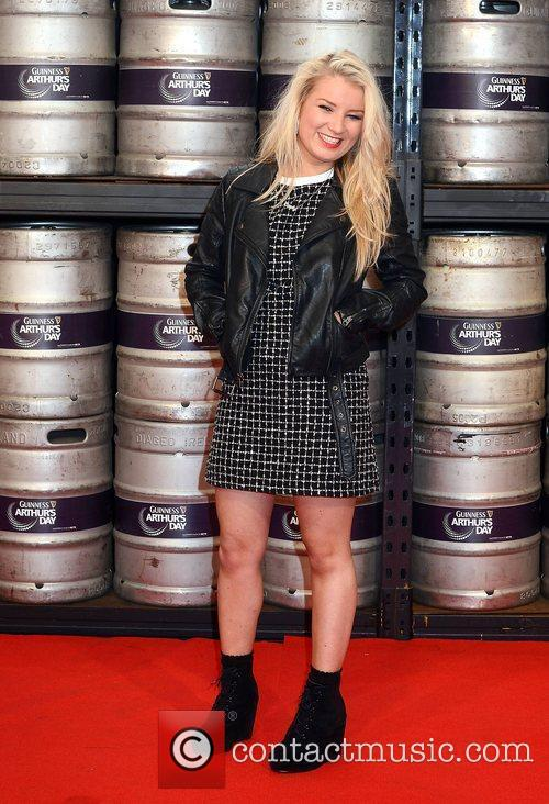 Carly Connor,  at the Guinness Store House...