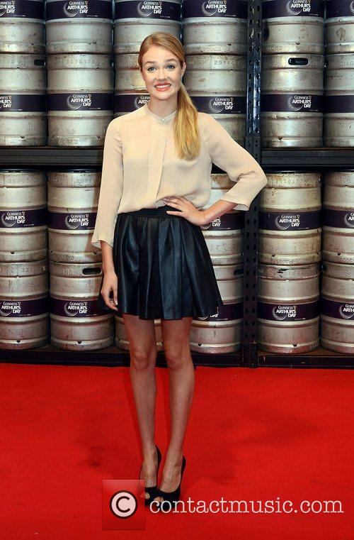 Florrie Arnold,  at the Guinness Store House...