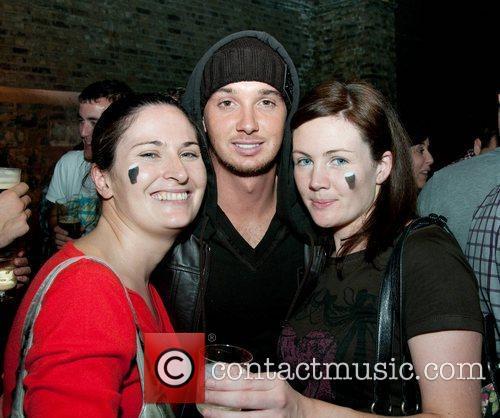 Sarah Lynch, Stephen Ireland and Brona Walsh The...