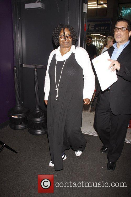 Whoopi Goldberg and publicist  The Casting Society...