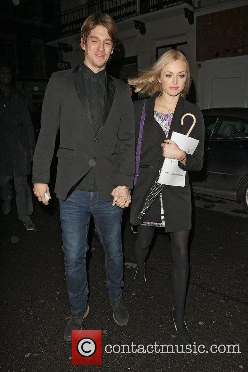 Jesse Wood and Fearne Cotton,  at the...