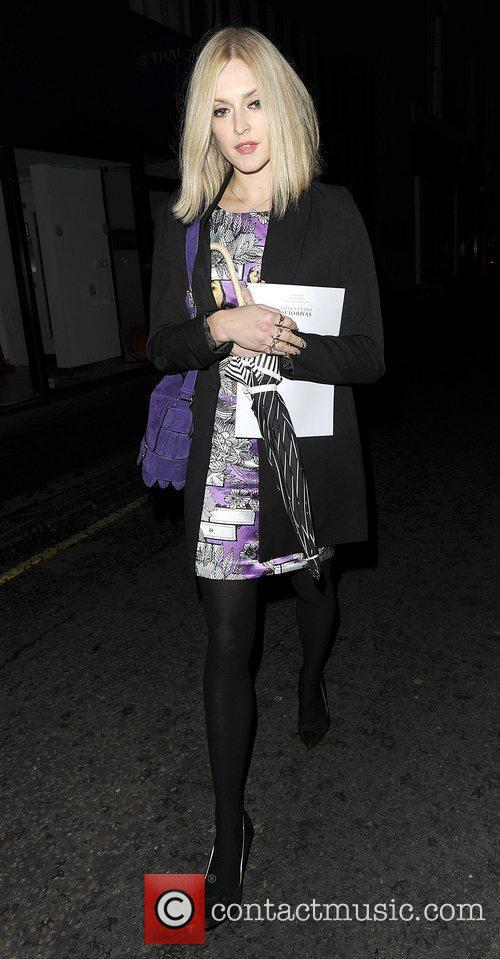 Fearne Cotton Leaving the The Arts Club Mayfair....