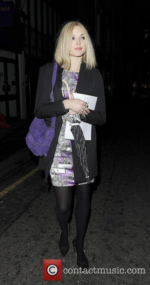 Fearne Cotton Leaving the The Arts Club Mayfair.
