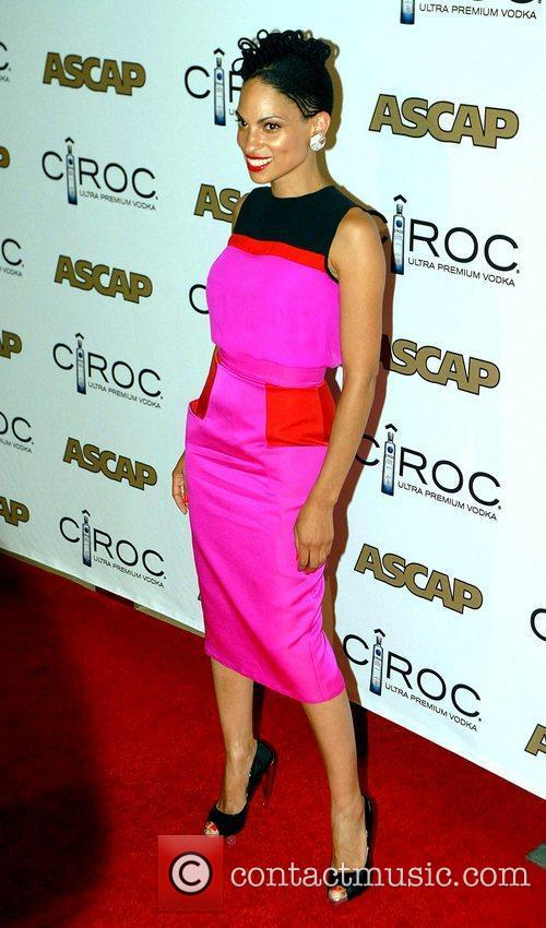 Goapele at the ASCAP Rhythm and Soul Awards...