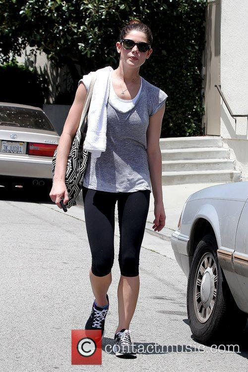Leaving the gym in Studio City