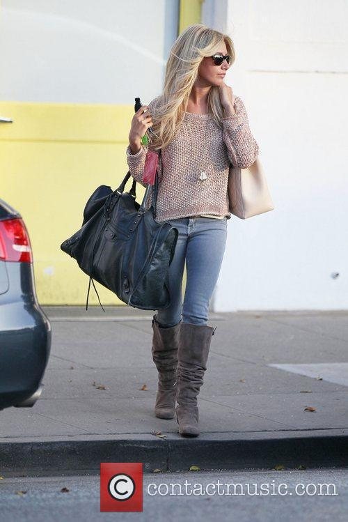 Ashley Tisdale exits Byron and Tracy in Beverly...
