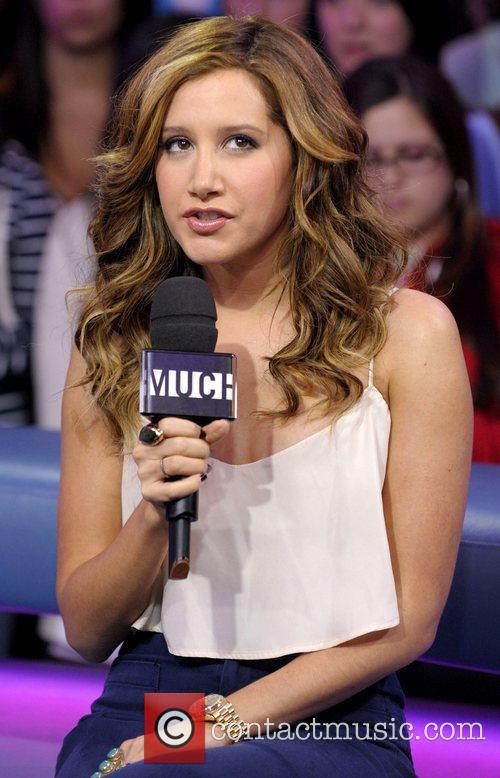 Ashley Tisdale appears on MuchMusic's 'New.Music.Live' to promote...