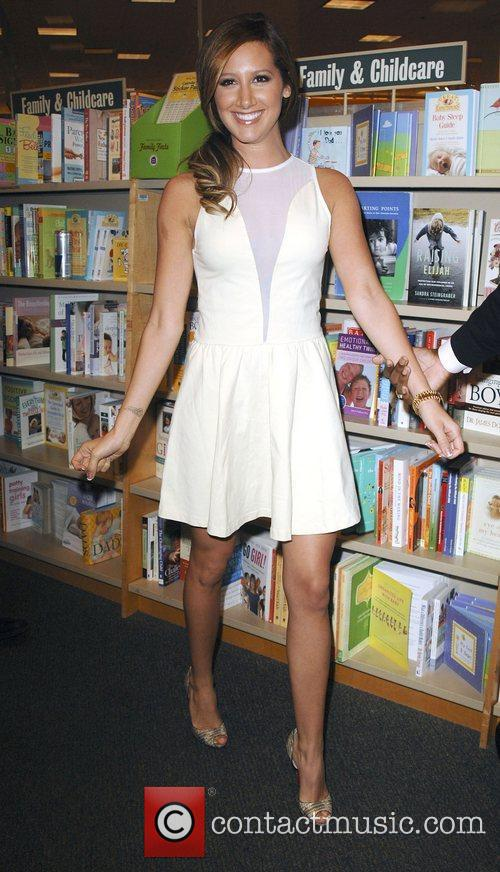 Ashley Tisdale promotes her new DVD 'Sharpay's Fabulous...