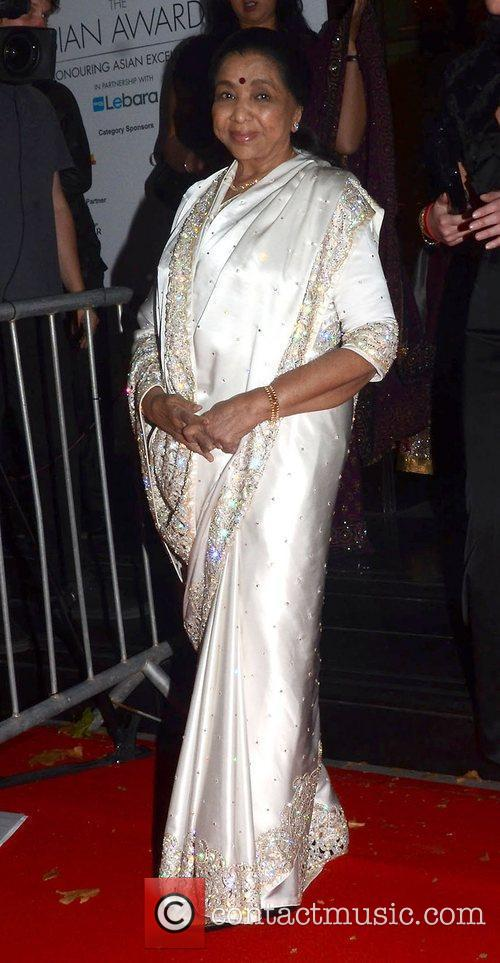 Asha Bhosie,  at The Asian Awards 2011...