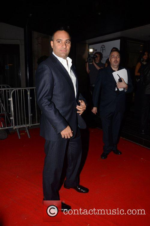 Russell Peters ,  at The Asian Awards...