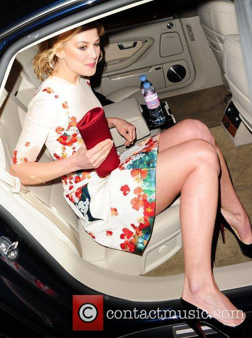 Rosamund Pike leaves the BAFTA Nominee party at...