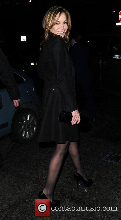 Leaves the BAFTA Nominee party at Asprey