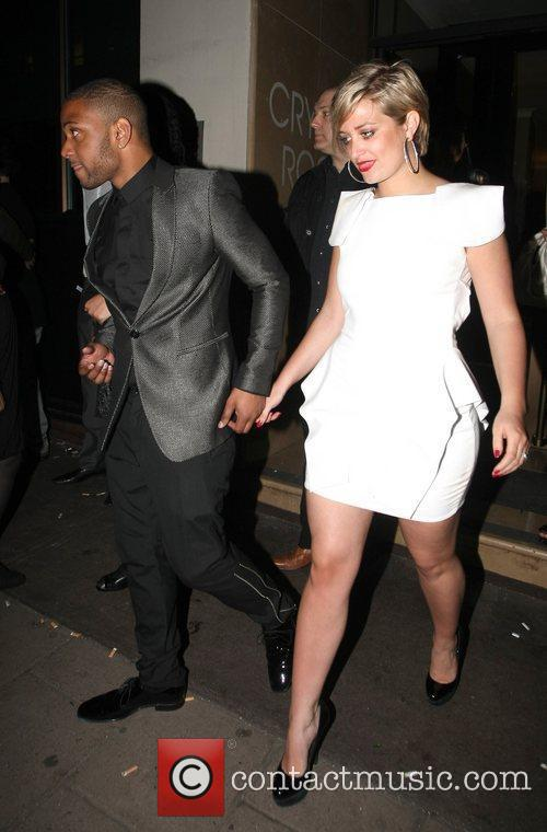 Jonathan 'J.B.' Gill and his girlfriend Chloe Celebrities...
