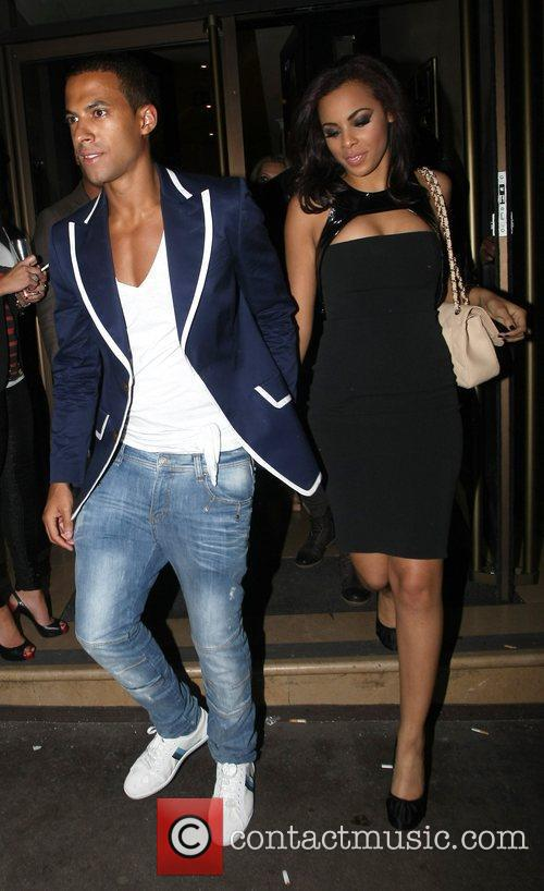 Celebrities attend the birthday party of JLS' Aston...