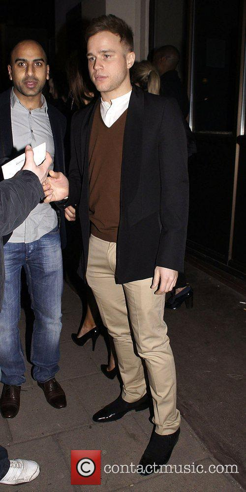 Olly Murs Celebrities attend the birthday party of...