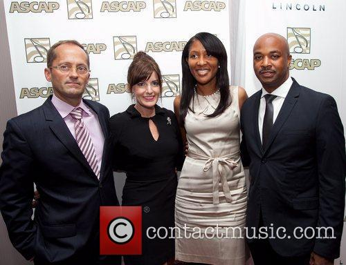 Councilman Kwanza Hall and Wife ASCAP Rhythm and...