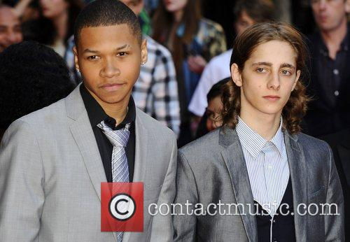 Cast  at the UK premiere of 'Attack...