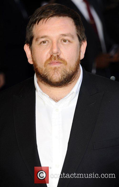 nick frost gay. Nick Frost at the UK premiere of 'Attack