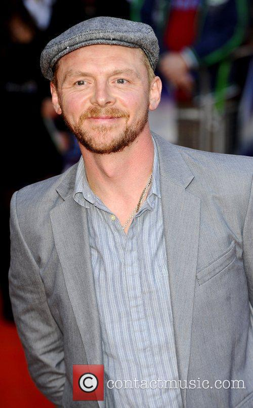 Simon Pegg  at the UK premiere of...