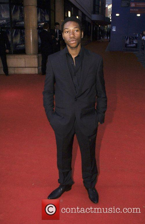Cast Member UK premiere of 'Attack The Block'...