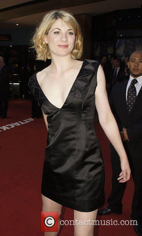 Jodie Whittaker UK premiere of 'Attack The Block'...