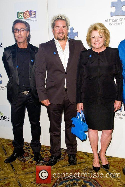 Lesley Stahl,Guy Fieri and Suzanne Wright Autism Speaks...