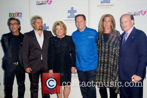 Lesley Stahl, Guy Fieri, Suzanne Wright and Bob...