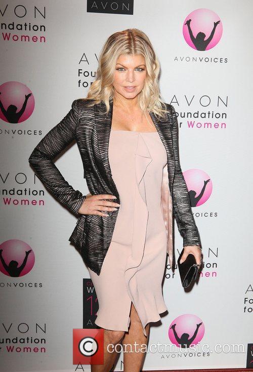 Fergie  Avon Foundation Awards Gala 2011 at...