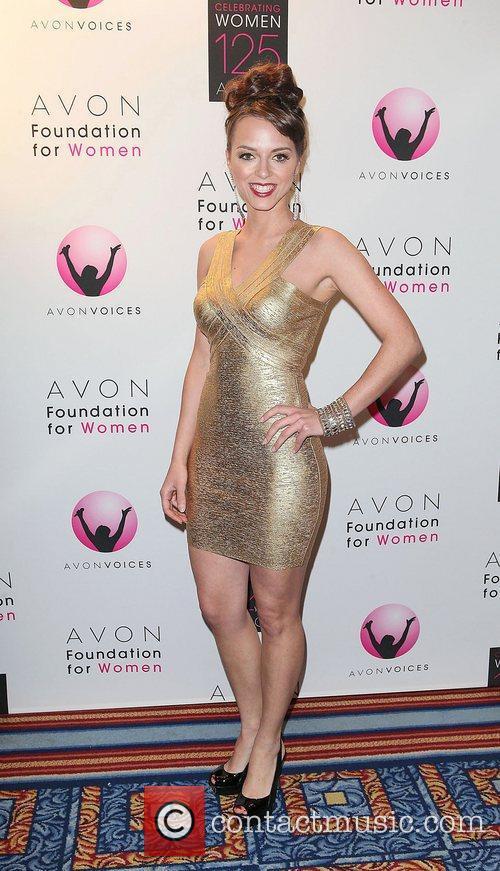 Finalist, Evelina Anusauskaite  Avon Foundation Awards Gala...
