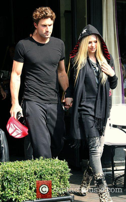 Brody Jenner and Avril Lavigne 3