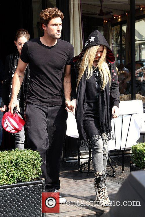 Brody Jenner and Avril Lavigne 5
