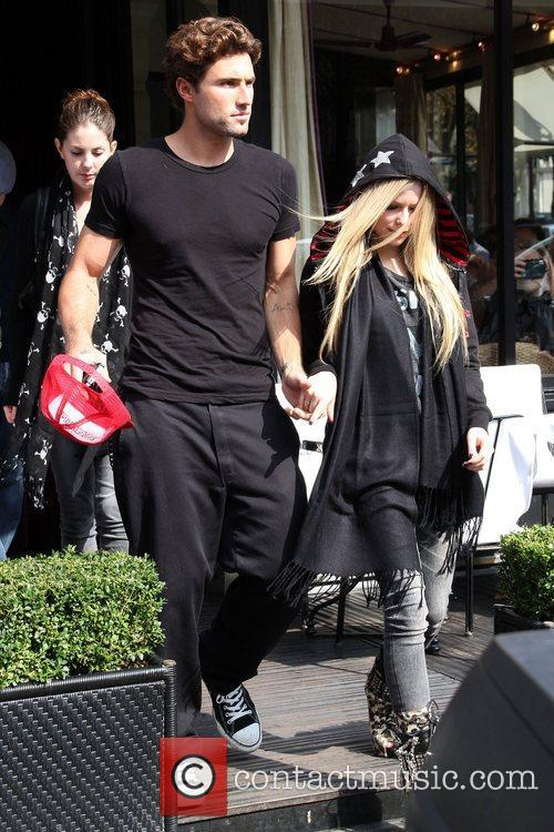 Brody Jenner and Avril Lavigne 6
