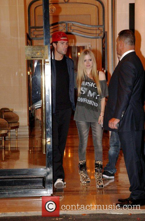 Avril Lavigne and Brody Jenner 2