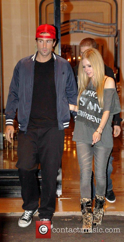 Avril Lavigne and Brody Jenner 1