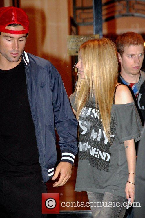 Avril Lavigne and Brody Jenner 4