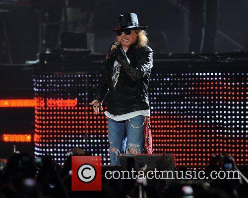 Axl Rose and Guns N Roses 16