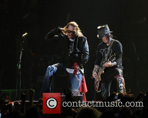 Axl Rose and Guns N Roses 29
