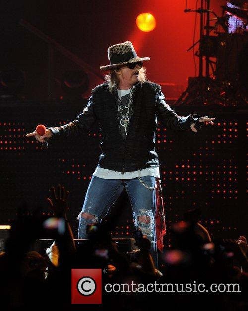 Axl Rose and Guns N Roses 21