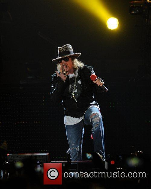 Axl Rose and Guns N Roses 36