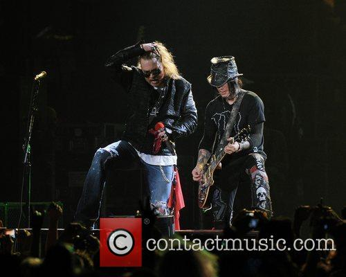 Axl Rose and Guns N Roses 58