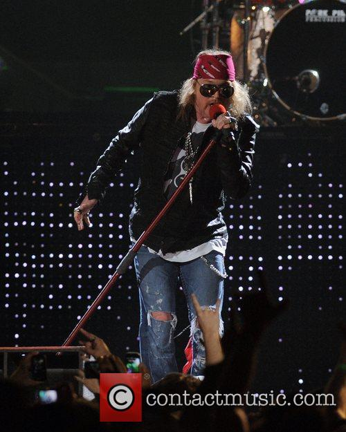 Axl Rose and Guns N Roses 60