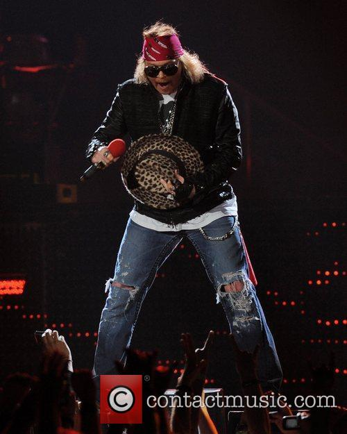 Axl Rose and Guns N Roses 45