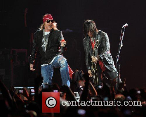 Axl Rose and Guns N Roses 62