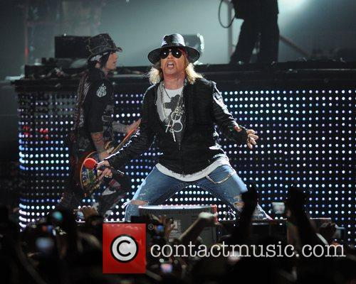 Axl Rose and Guns N Roses 38