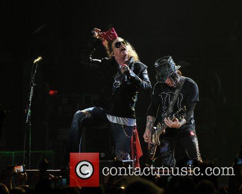 Axl Rose and Guns N Roses 57