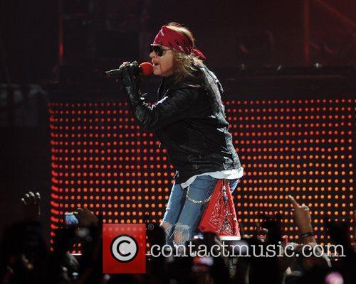 Axl Rose and Guns N Roses 30