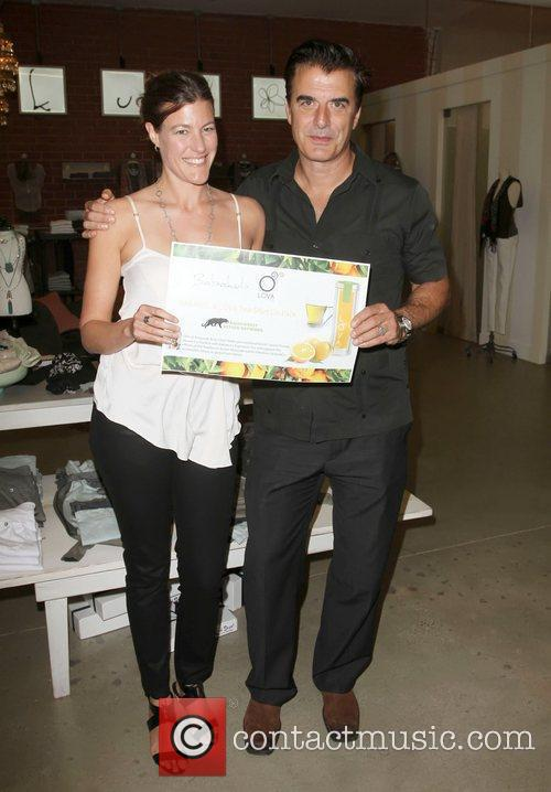 Rebecca Tarbotton, Chris Noth Official launch party of...