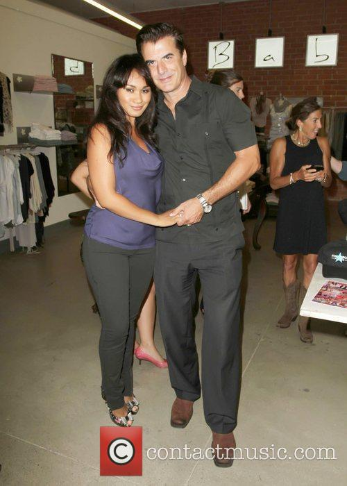 Chris Noth And His Wife